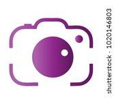 photography icon vector logo... | Shutterstock .eps vector #1020146803