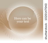 abstract background for text.... | Shutterstock .eps vector #1020147043