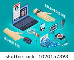 digital health industry... | Shutterstock .eps vector #1020157393