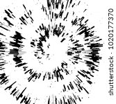 radial concentric particles... | Shutterstock .eps vector #1020177370