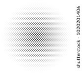 halftone element. abstract... | Shutterstock .eps vector #1020201406