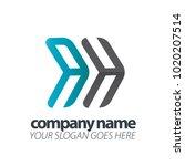 initial letter speed logo | Shutterstock .eps vector #1020207514