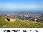 the panoramic view from... | Shutterstock . vector #1020210763