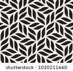 vector seamless pattern. modern ... | Shutterstock .eps vector #1020211660