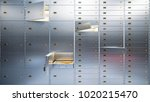 open bank safe doors  3d... | Shutterstock . vector #1020215470