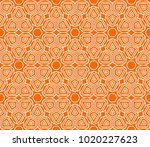 vector fashion seamless pattern ... | Shutterstock .eps vector #1020227623