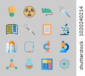 icons about science with... | Shutterstock .eps vector #1020240214