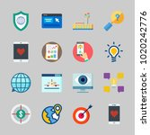 icons about seo with online... | Shutterstock .eps vector #1020242776