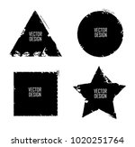 grunge post stamps collection ... | Shutterstock .eps vector #1020251764
