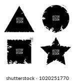 grunge post stamps collection ... | Shutterstock .eps vector #1020251770