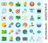 icons about marketing with... | Shutterstock .eps vector #1020276913