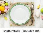 Spring Easter Table Setting...