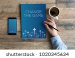 change the game concept | Shutterstock . vector #1020345634
