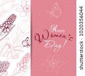 greeting card for international ...   Shutterstock .eps vector #1020356044