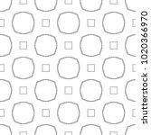 seamless vector pattern in... | Shutterstock .eps vector #1020366970