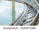 clarifier wastewater treatment...   Shutterstock . vector #1020371080