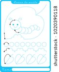 insect. preschool worksheet for ...