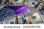 saving money concept   american ...   Shutterstock . vector #1020390760