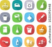 flat vector icon set   hanger... | Shutterstock .eps vector #1020393448