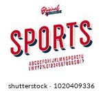"""sports"" vintage 3d stylish... 