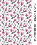 spring delicate texture of... | Shutterstock . vector #1020417340