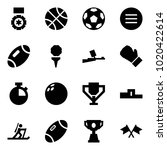 origami style icon set   medal... | Shutterstock .eps vector #1020422614