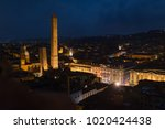 panoramic view of the roofs of... | Shutterstock . vector #1020424438