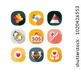 service  jigsaw  hand  graph ... | Shutterstock .eps vector #1020426553