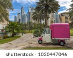 dubai  united arab emirates  ... | Shutterstock . vector #1020447046