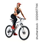 active life. sporty woman...   Shutterstock . vector #1020457744