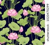 seamless pattern  background... | Shutterstock .eps vector #1020470299