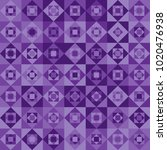 abstract ultra violet seamless... | Shutterstock .eps vector #1020476938