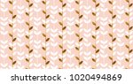 luxury gold and pastel flowers...
