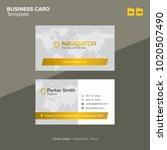 modern professional business... | Shutterstock .eps vector #1020507490