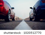 cars at the start  competitions | Shutterstock . vector #1020512770