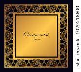 vintage ornamental frame....   Shutterstock .eps vector #1020518800