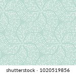 abstract geometric pattern with ... | Shutterstock .eps vector #1020519856