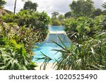 Cascade Of Pools. Pools At The...