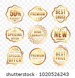 set of high quality luxury... | Shutterstock .eps vector #1020526243