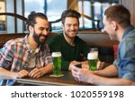 leisure  st patricks day and... | Shutterstock . vector #1020559198