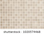 cream the tile wall high... | Shutterstock . vector #1020574468