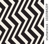 zigzag lines surface. jagged... | Shutterstock .eps vector #1020584209