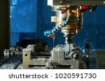 metalworking cnc milling... | Shutterstock . vector #1020591730