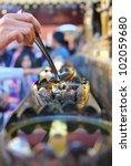 flame in wat phra that doi... | Shutterstock . vector #102059680