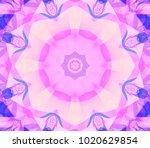 Kaleidoscope Pink Flower....