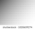 grunge halftone background.... | Shutterstock .eps vector #1020639274
