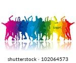 rainbow party   Shutterstock .eps vector #102064573