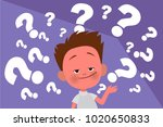 vector illustration of many... | Shutterstock .eps vector #1020650833