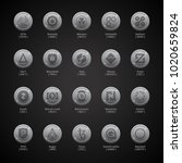 cryptocoins  cryptocurrencies   ... | Shutterstock .eps vector #1020659824