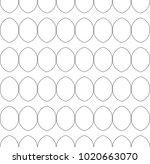 seamless ornamental vector... | Shutterstock .eps vector #1020663070